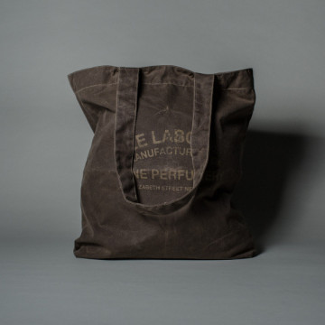 WAXED CANVAS TOTE BAG waxed canvas tote waxed canvas tote